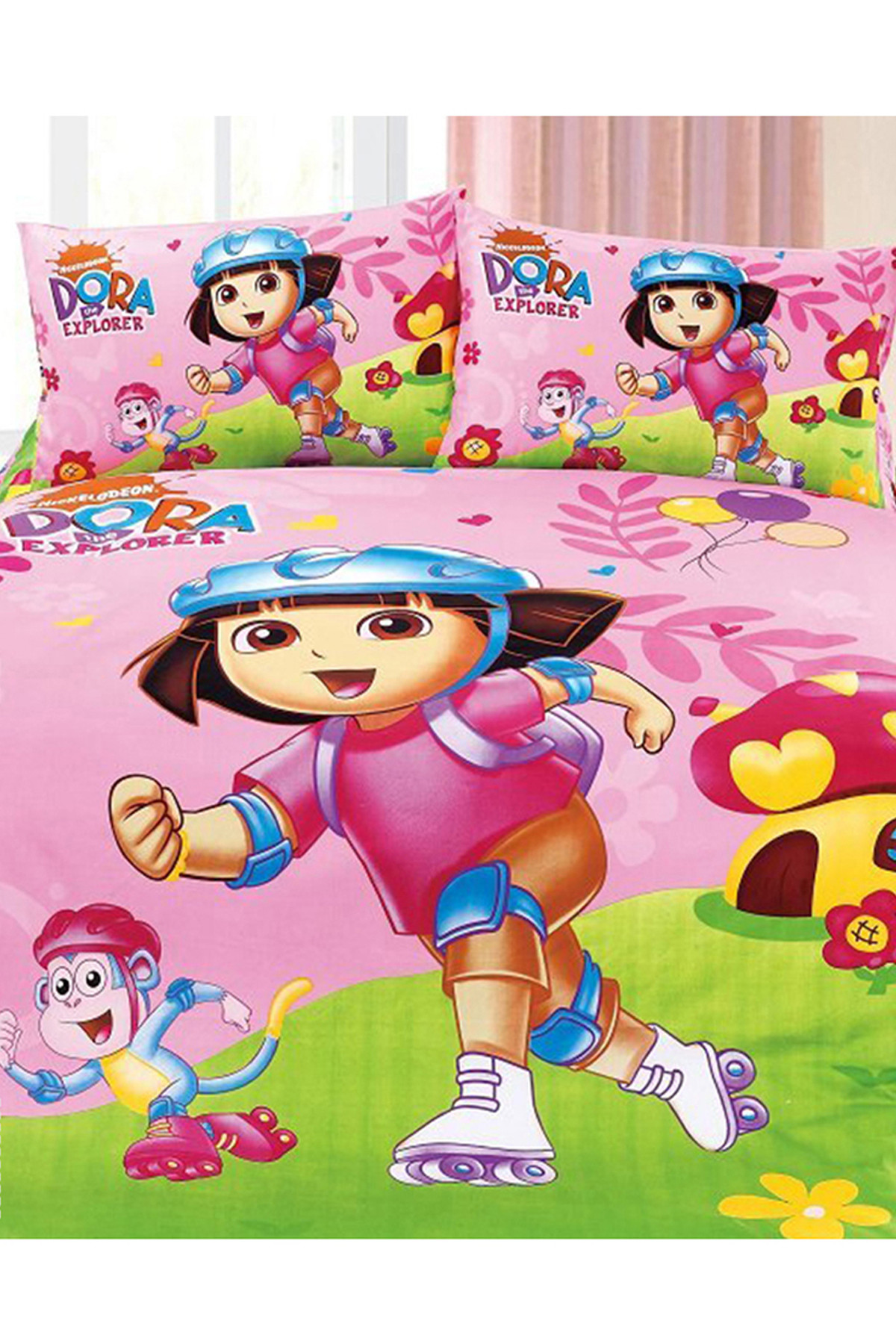 childrens bedroom set dora the explorer