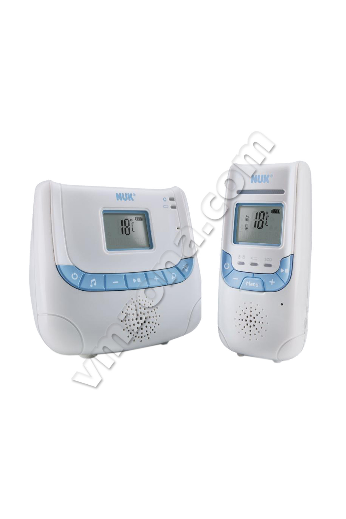 nuk baby monitor dect eco control display. Black Bedroom Furniture Sets. Home Design Ideas