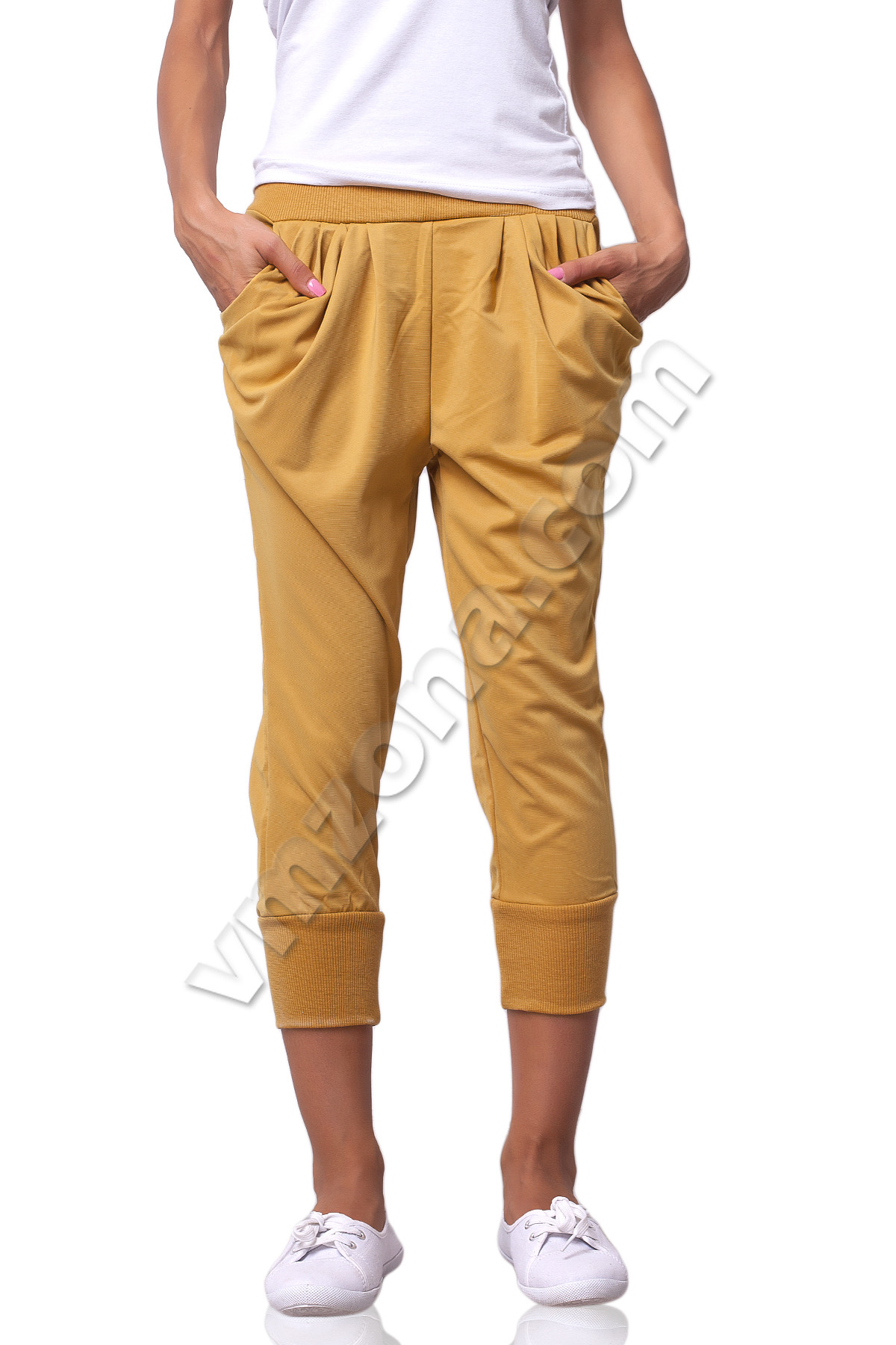 Ladies-trousers-7-8-tucks-with-pockets-nk18495