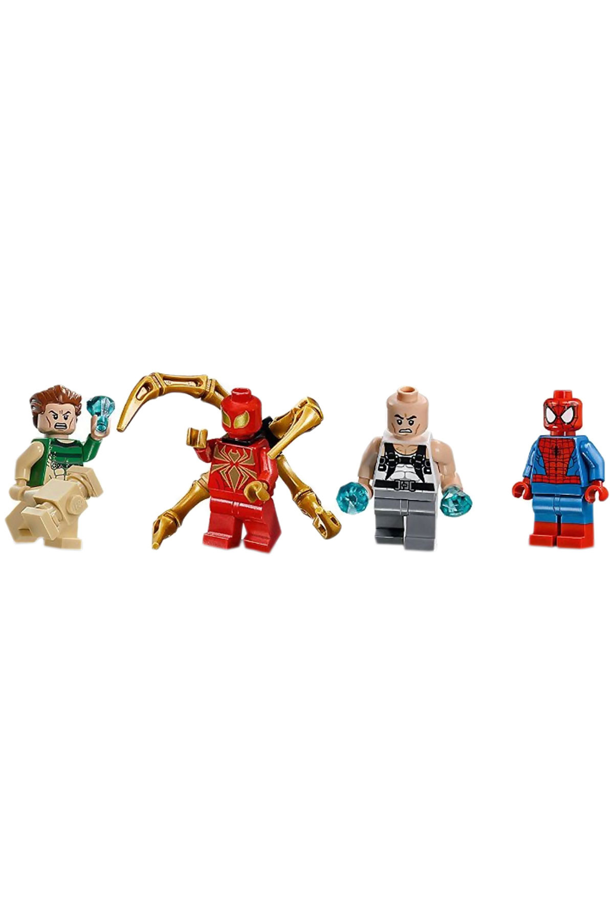 lego spiderman rhino and sandman team up instructions