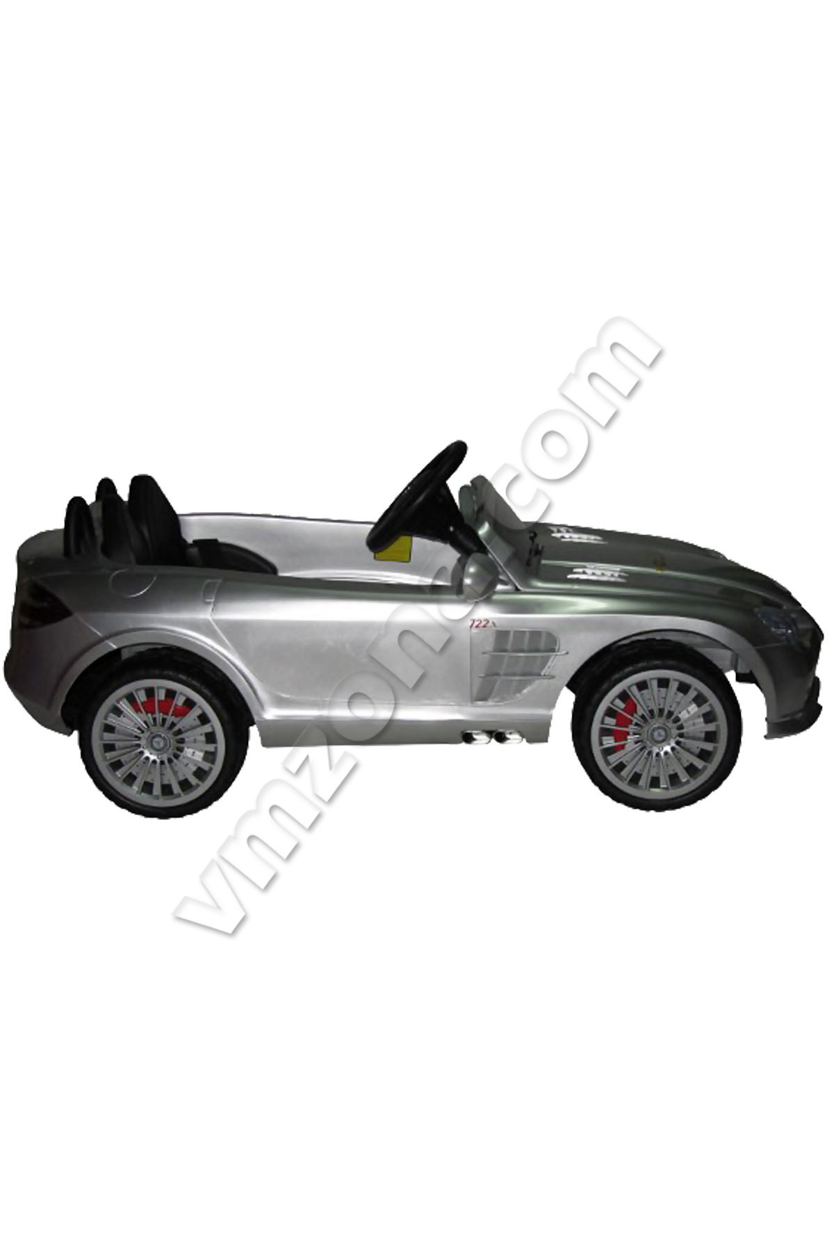 Childrens rechargeable car mercedes benz slr with fast and for Mercedes benz battery warranty