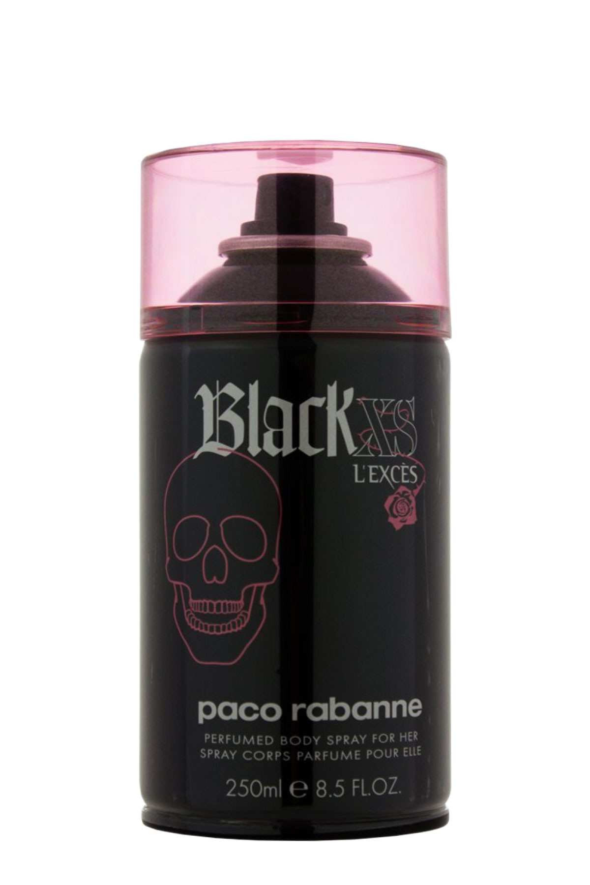 Paco rabanne black xs l exces for her bs for Paco rabanne black rose