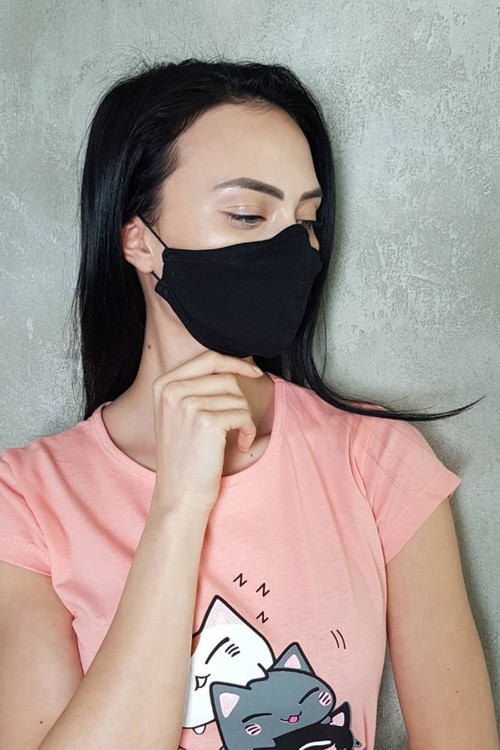 Designer unisex mask made of high quality waterproof material.The mask helps to protect