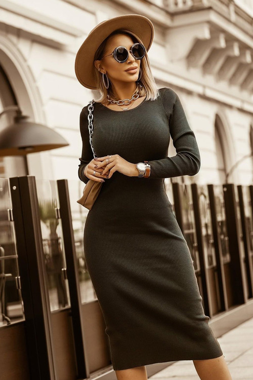 Ladies / Dresses with long sleeves