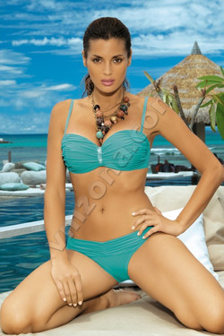 Ladies / Swimsuit with bustier top