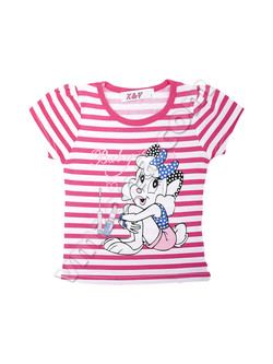 Childrens clothing for girls / Short sleeve blouses